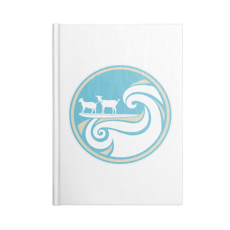 Shredding the Gnar Accessories Lined Journal Notebook by ishCreatives's Artist Shop
