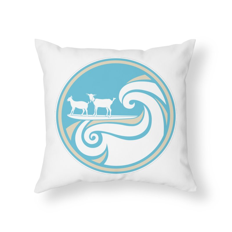 Shredding the Gnar Home Throw Pillow by ishCreatives's Artist Shop