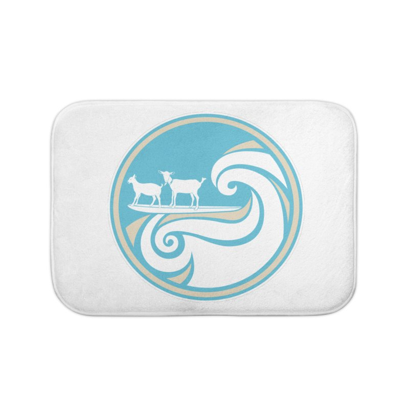 Shredding the Gnar Home Bath Mat by ishCreatives's Artist Shop