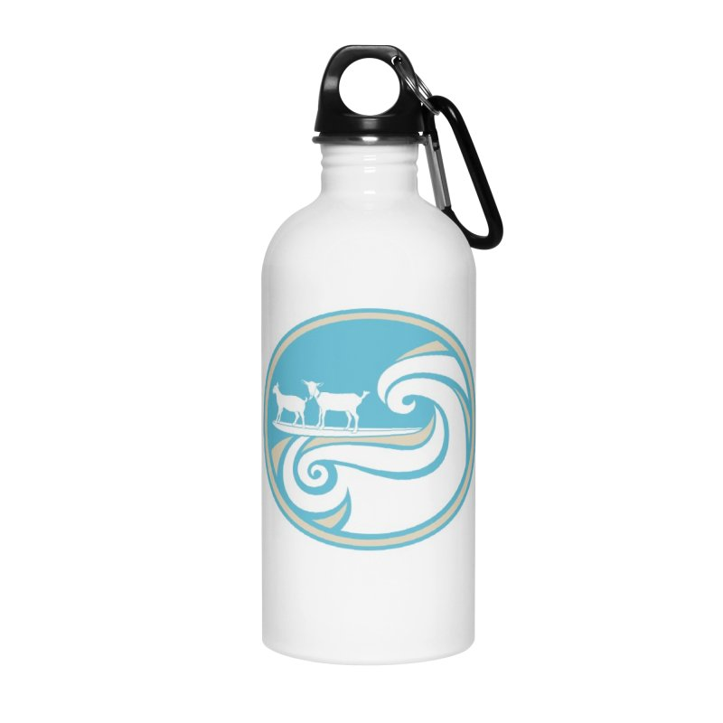 Shredding the Gnar Accessories Water Bottle by ishCreatives's Artist Shop