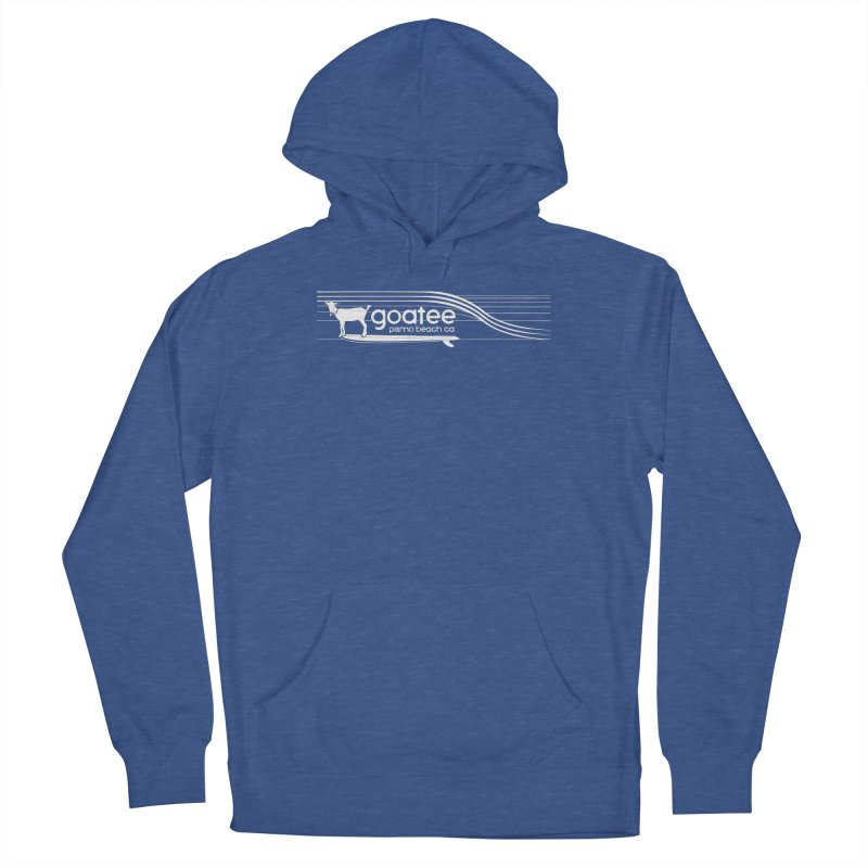 Goatee, The Original Surfing Goat Women's Pullover Hoody by ishCreatives's Artist Shop