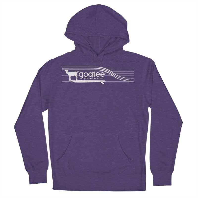 Goatee, The Original Surfing Goat Women's French Terry Pullover Hoody by ishCreatives's Artist Shop
