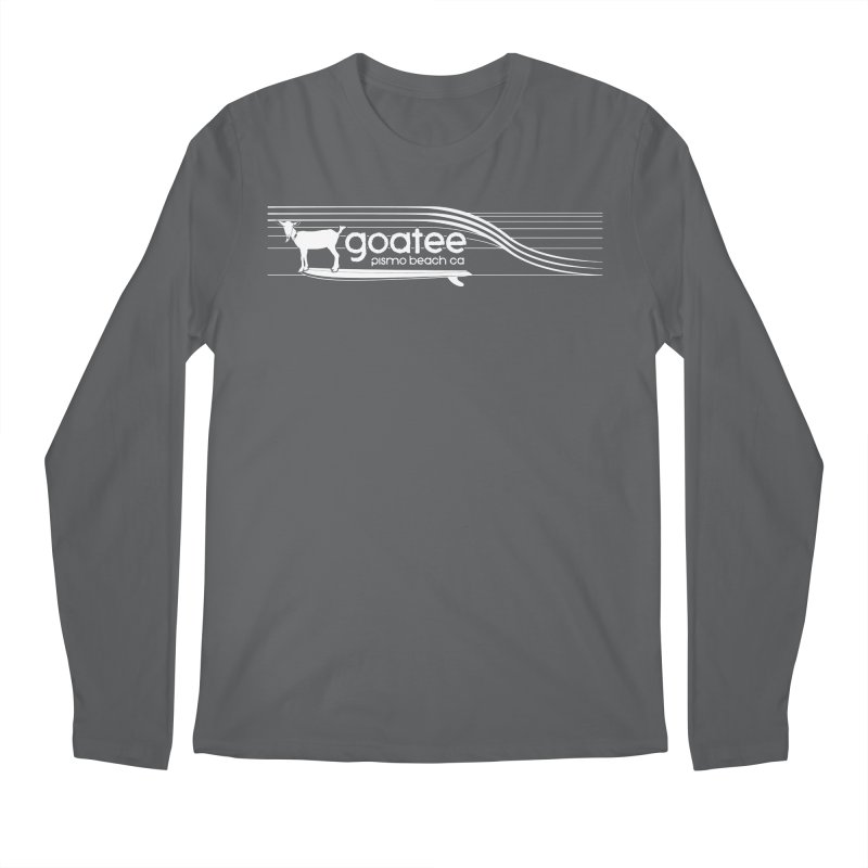 Goatee, The Original Surfing Goat Men's Longsleeve T-Shirt by ishCreatives's Artist Shop