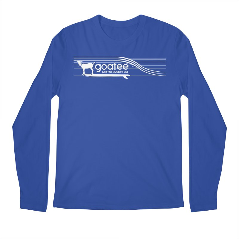 Goatee, The Original Surfing Goat Men's Regular Longsleeve T-Shirt by ishCreatives's Artist Shop