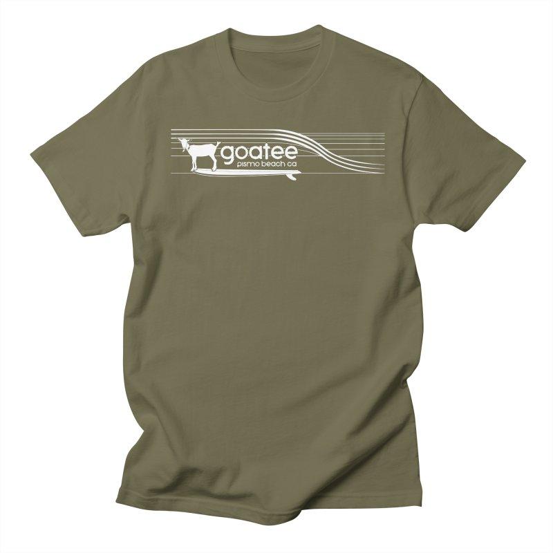 Goatee, The Original Surfing Goat Men's Regular T-Shirt by ishCreatives's Artist Shop