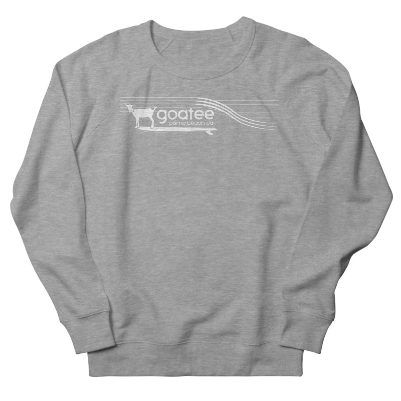 Goatee, The Original Surfing Goat Men's French Terry Sweatshirt by ishCreatives's Artist Shop