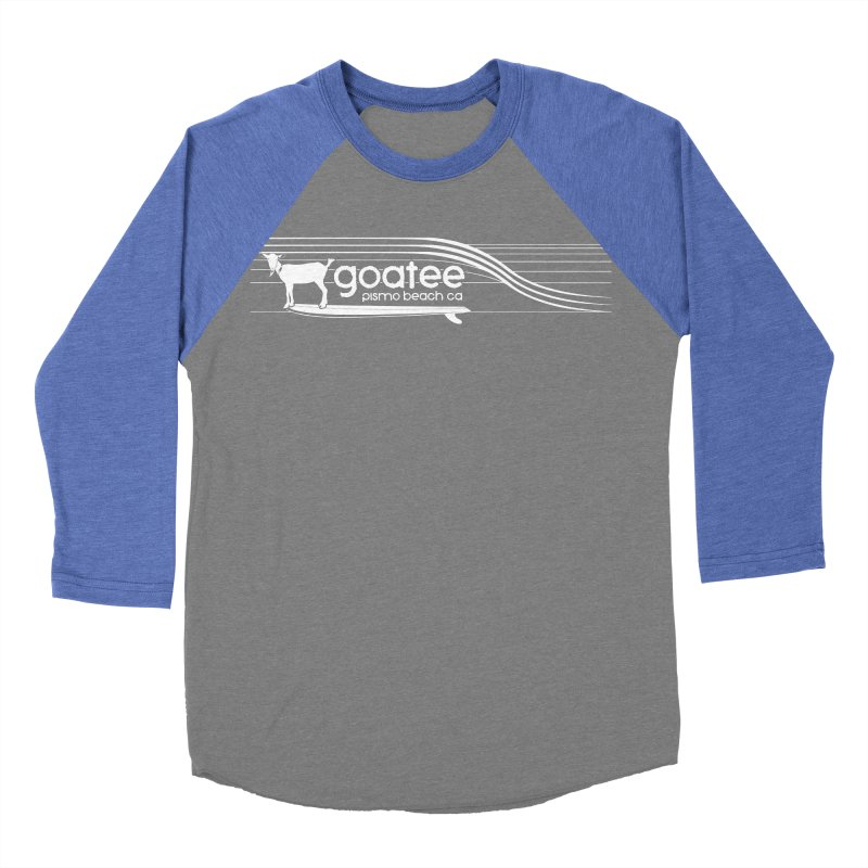 Goatee, The Original Surfing Goat Women's Baseball Triblend T-Shirt by ishCreatives's Artist Shop