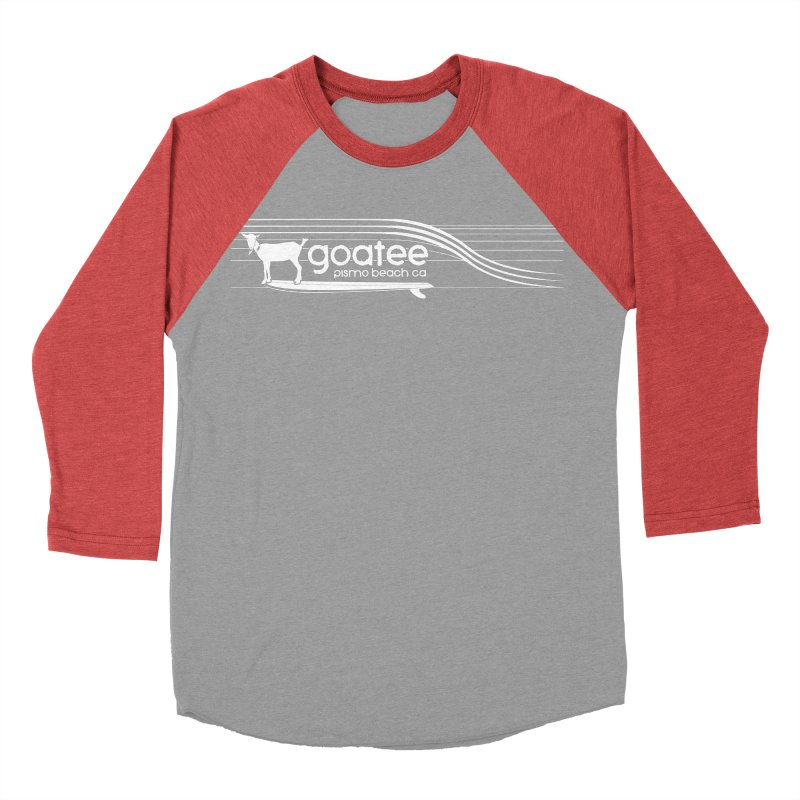 Goatee, The Original Surfing Goat Women's Baseball Triblend Longsleeve T-Shirt by ishCreatives's Artist Shop