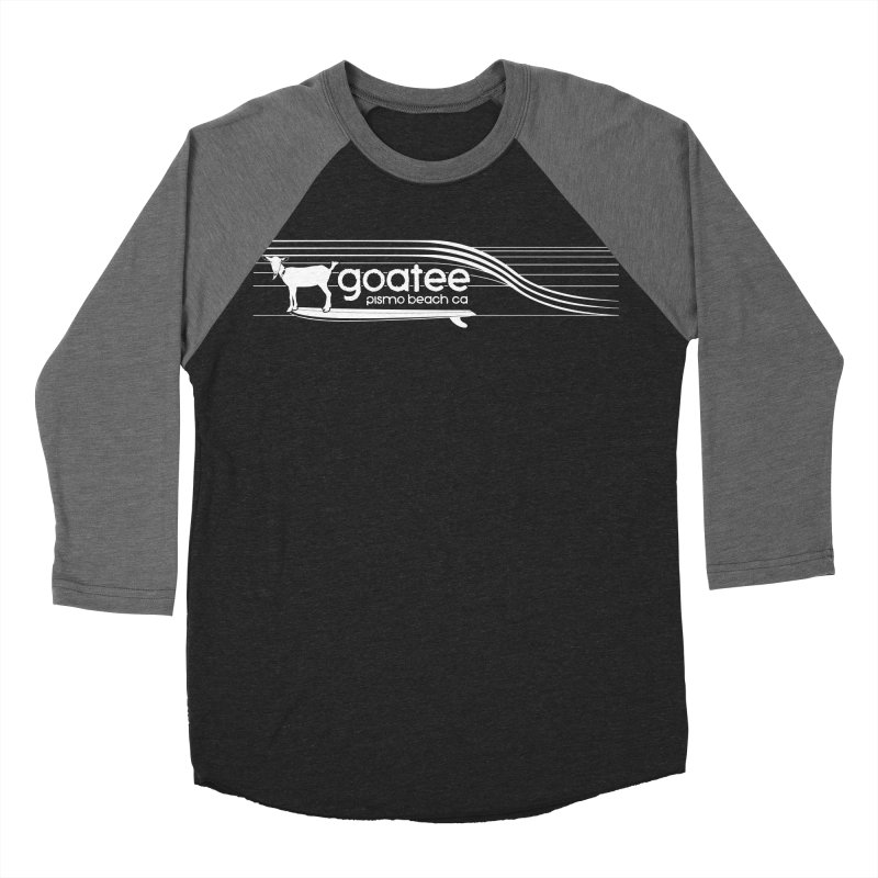 Goatee, The Original Surfing Goat Women's Baseball Triblend Longsleeve T-Shirt by ishCreatives's Artist Shop