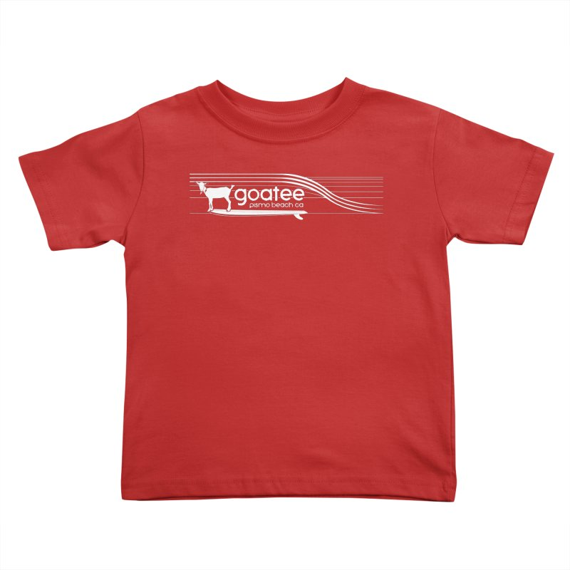 Goatee, The Original Surfing Goat Kids Toddler T-Shirt by ishCreatives's Artist Shop