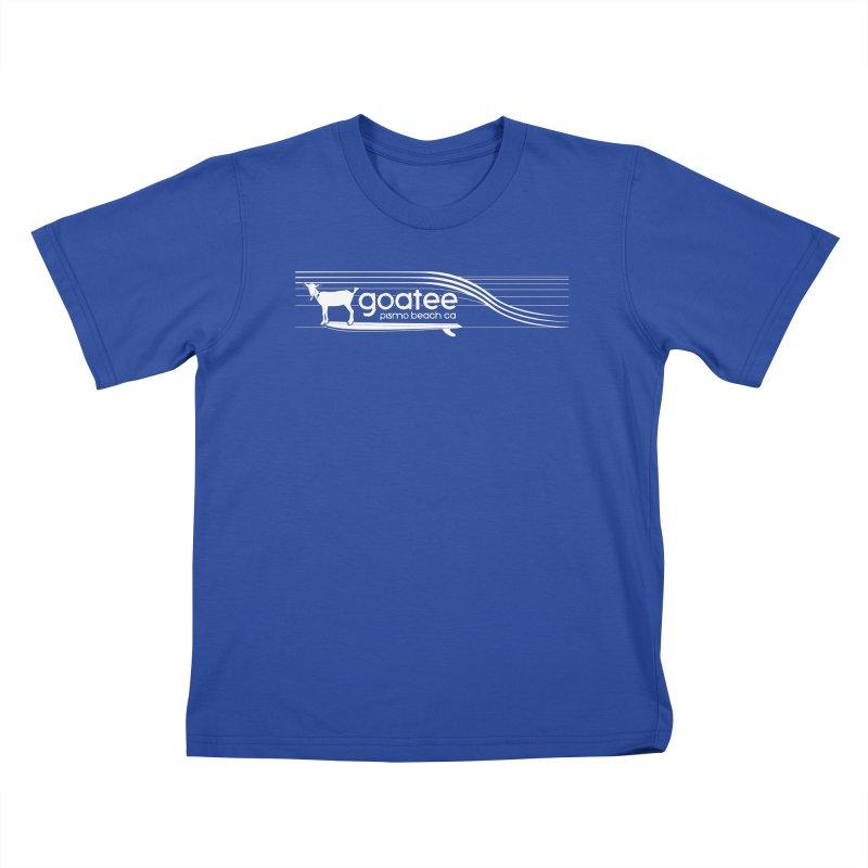 Goatee, The Original Surfing Goat Kids T-Shirt by ishCreatives's Artist Shop