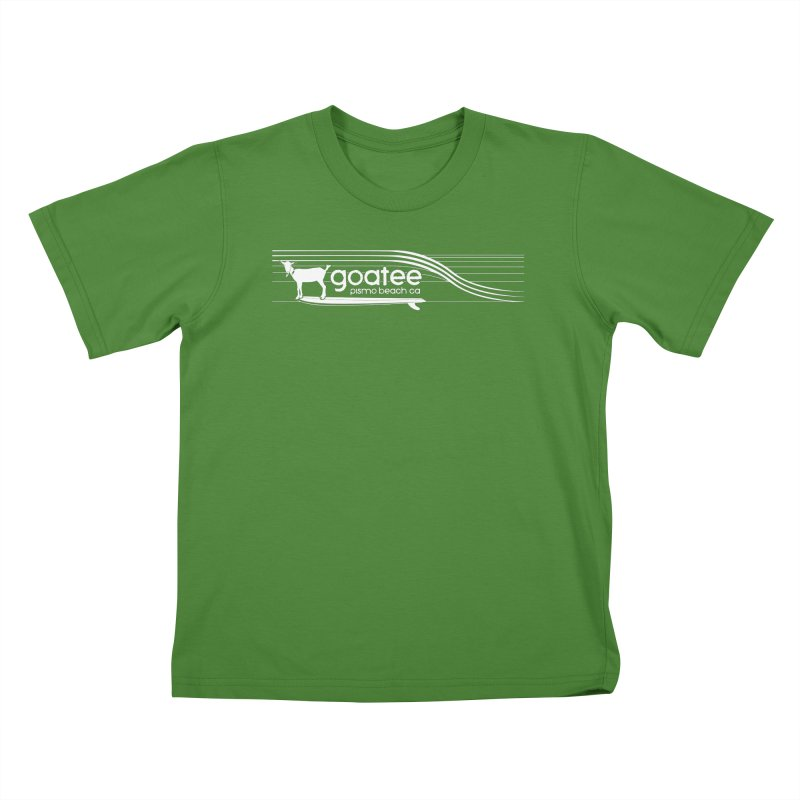 Goatee, The Original Surfing Goat Kids T-Shirt by ishCreatives's Artist Shop