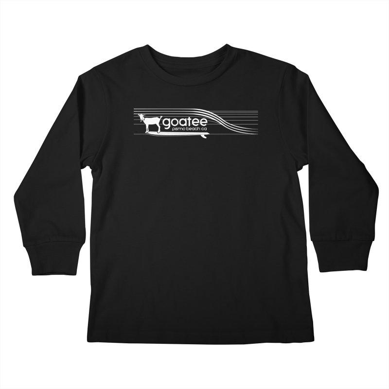 Goatee, The Original Surfing Goat Kids Longsleeve T-Shirt by ishCreatives's Artist Shop