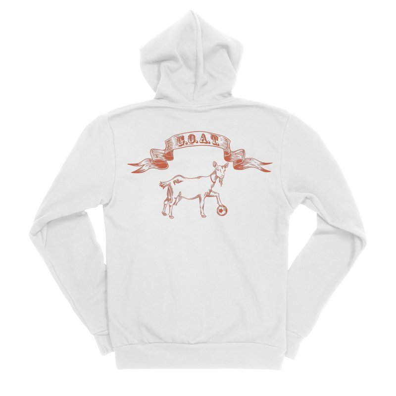 Greatest Of All Time Women's Sponge Fleece Zip-Up Hoody by ishCreatives's Artist Shop