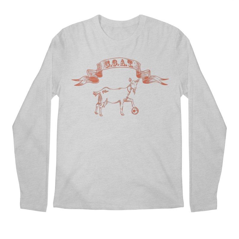 Greatest Of All Time Men's Regular Longsleeve T-Shirt by ishCreatives's Artist Shop