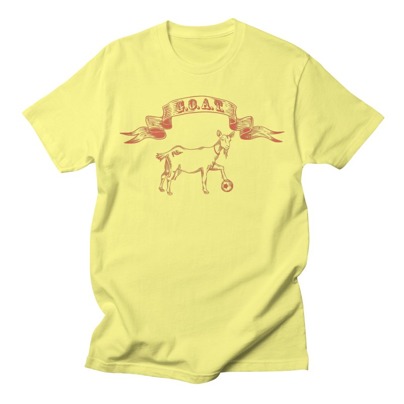Greatest Of All Time Men's T-Shirt by ishCreatives's Artist Shop
