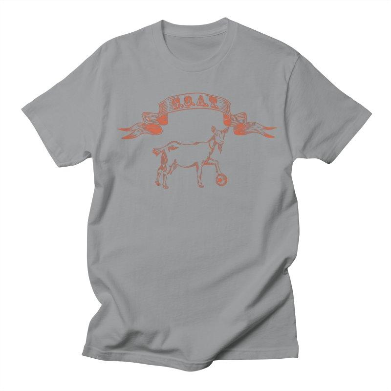 Greatest Of All Time Women's Regular Unisex T-Shirt by ishCreatives's Artist Shop