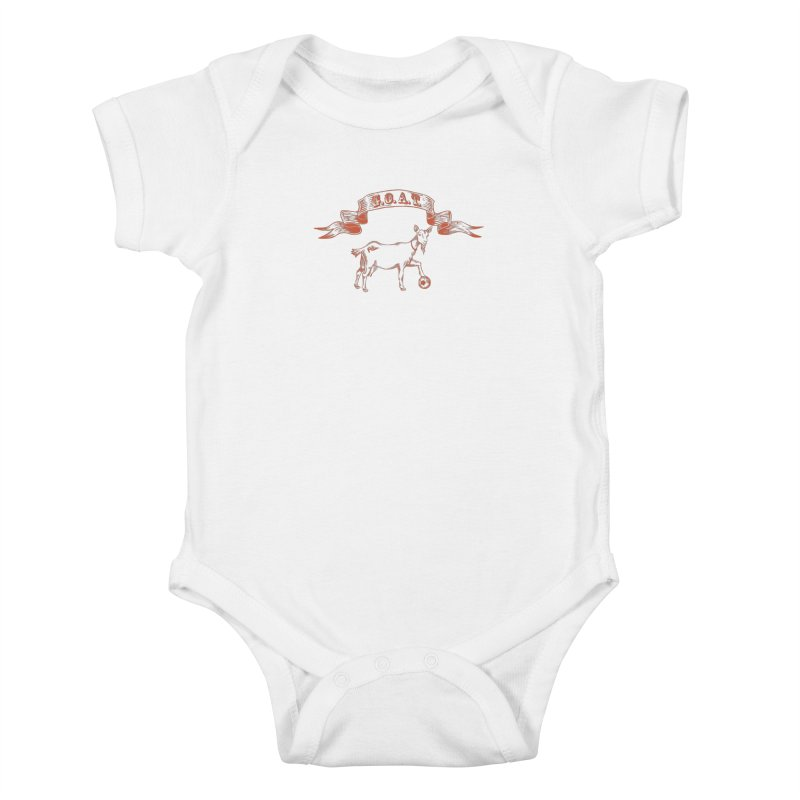Greatest Of All Time Kids Baby Bodysuit by ishCreatives's Artist Shop