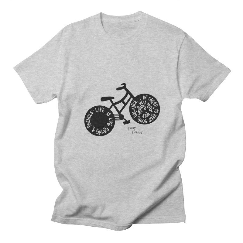 Life is moving  Men's Regular T-Shirt by Ira Shepel Artist Shop