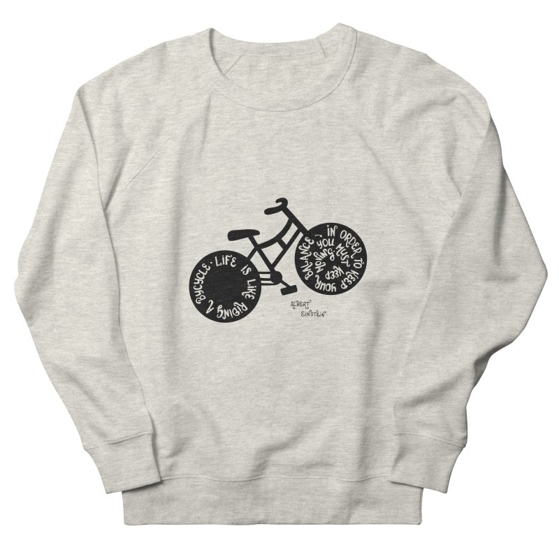 Life is moving  Men's French Terry Sweatshirt by Ira Shepel Artist Shop