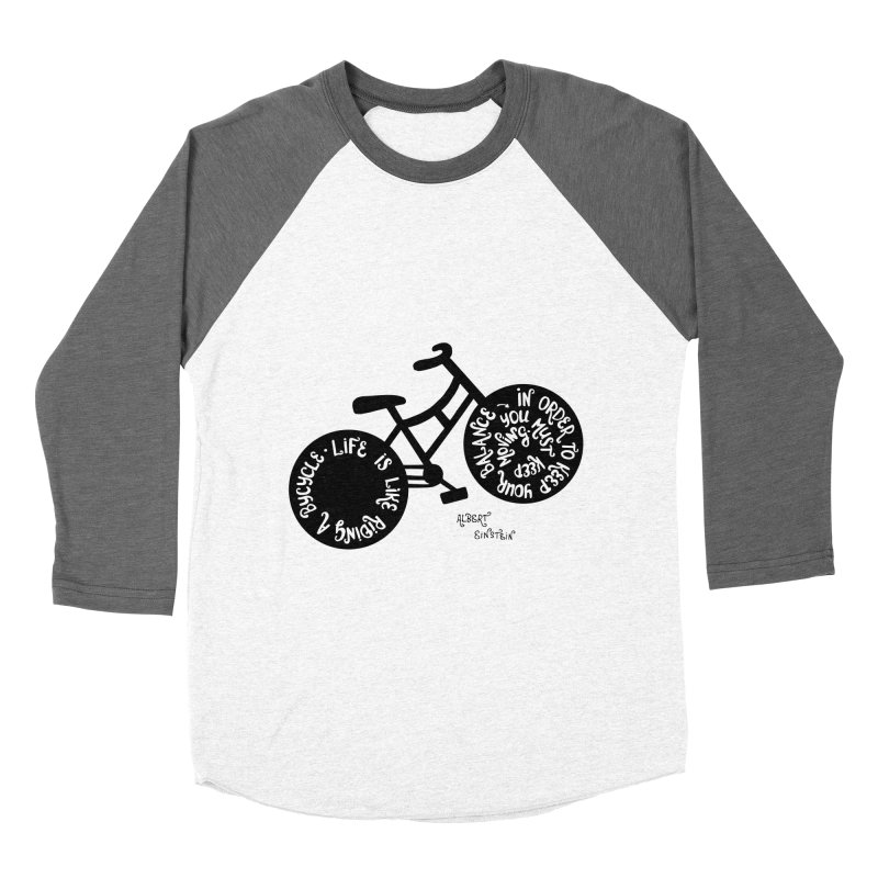 Life is moving  Men's Baseball Triblend T-Shirt by Ira Shepel Artist Shop