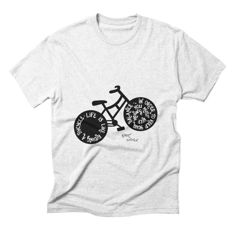 Life is moving  Men's Triblend T-shirt by Ira Shepel Artist Shop