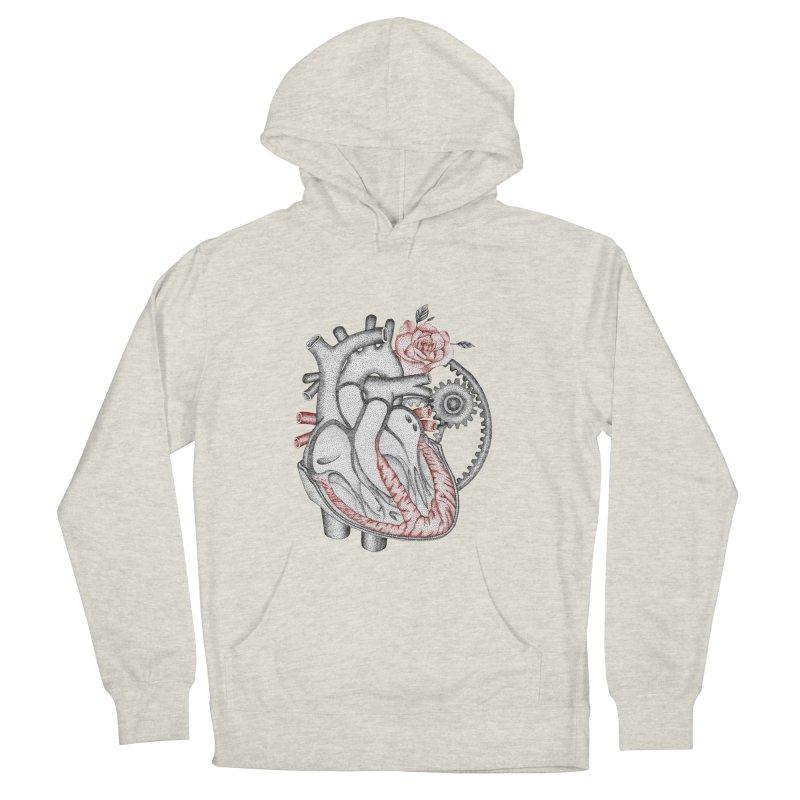 Heartful Women's Pullover Hoody by Ira Shepel Artist Shop