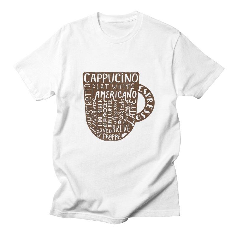 Coffee, please! Men's T-Shirt by Ira Shepel Artist Shop