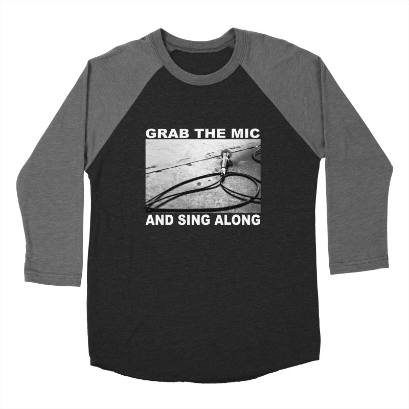 GRAB THE MIC Women's Longsleeve T-Shirt by A Life of Creation