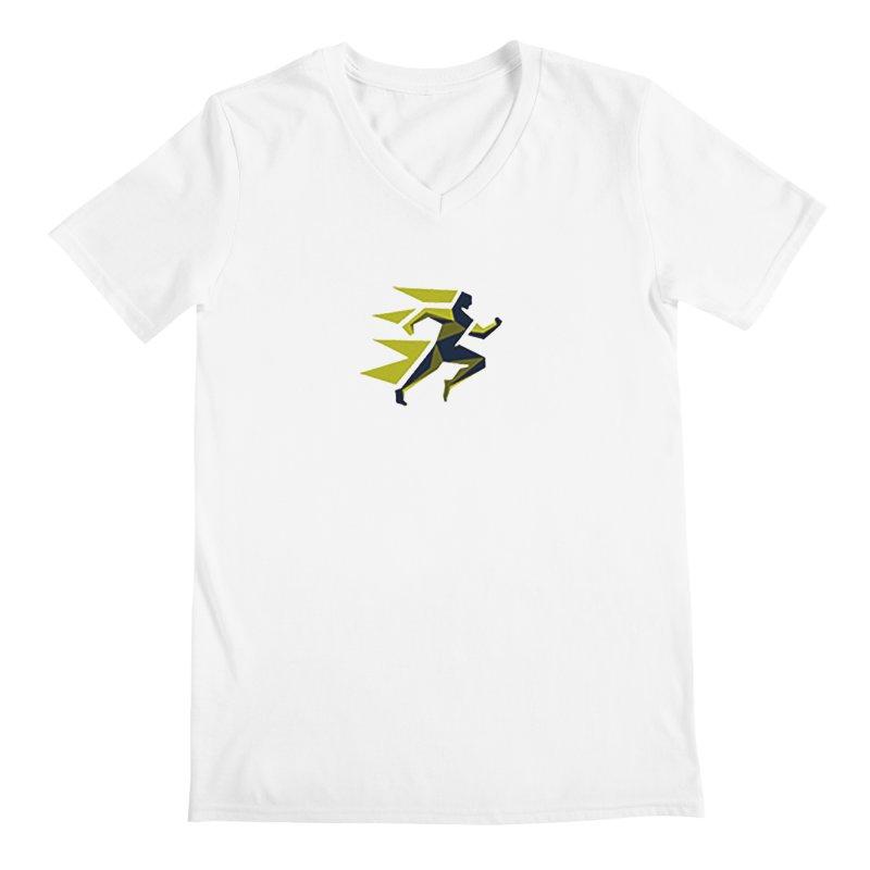7a4b13db7 iSport Tees logo trending T-Shirts Men's V-Neck by iSport Tees