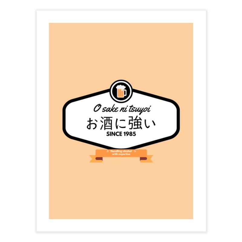 O sake ni tsuyoi Home Fine Art Print by itelchan's Artist Shop