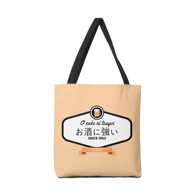 O sake ni tsuyoi Accessories Bag by itelchan's Artist Shop