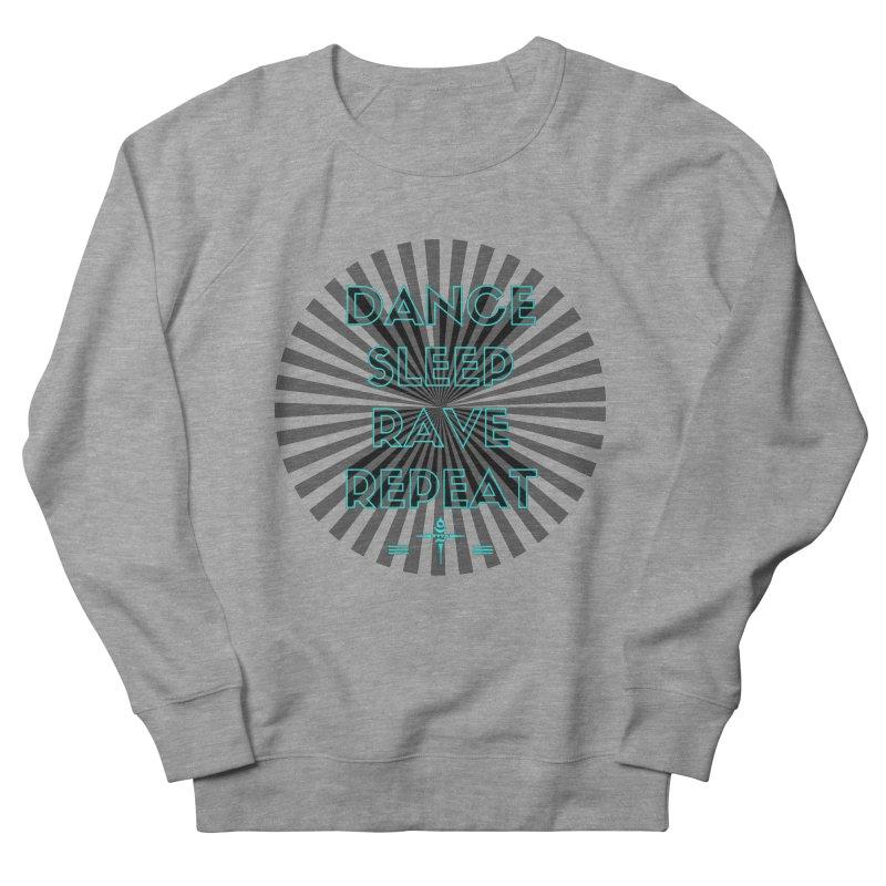 Dance Sleep Rave Repeat Men's Sweatshirt by itelchan's Artist Shop