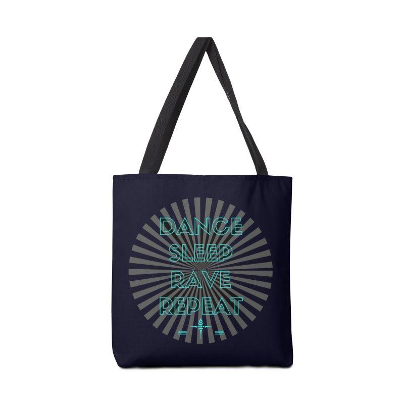 Dance Sleep Rave Repeat Accessories Bag by itelchan's Artist Shop