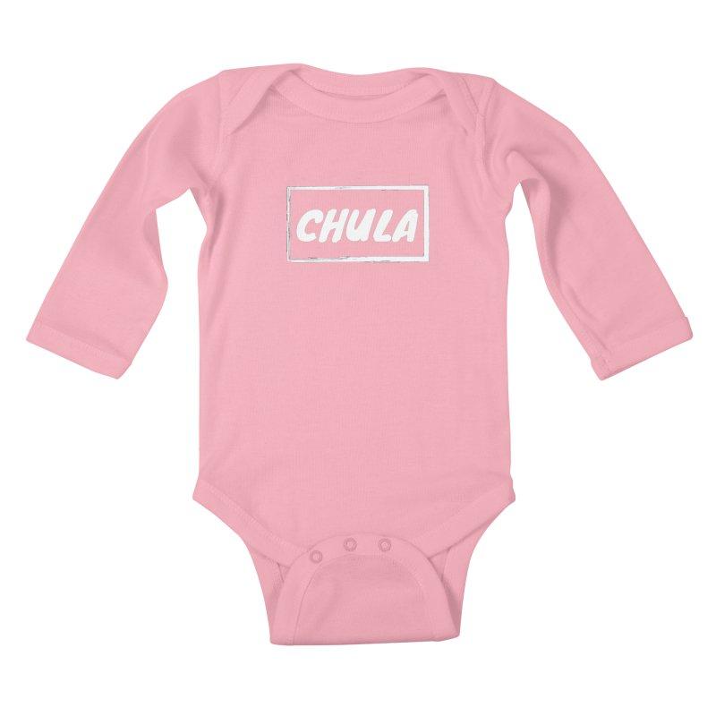 Chula Kids Baby Longsleeve Bodysuit by itelchan's Artist Shop