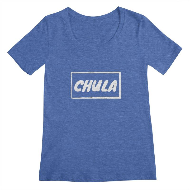 Chula Women's Scoopneck by itelchan's Artist Shop
