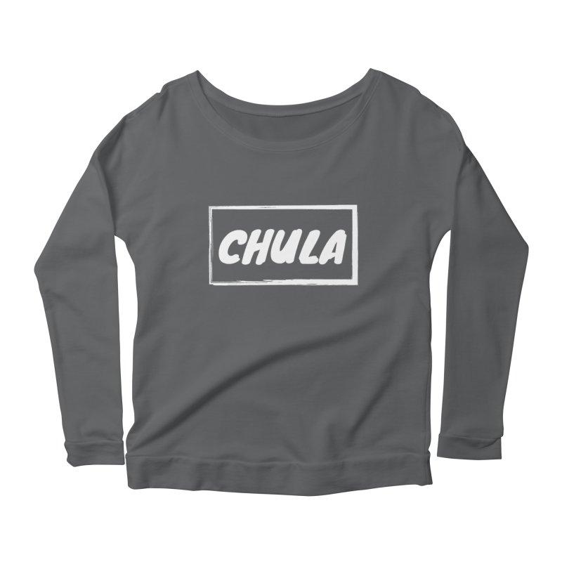 Chula Women's Longsleeve Scoopneck  by itelchan's Artist Shop
