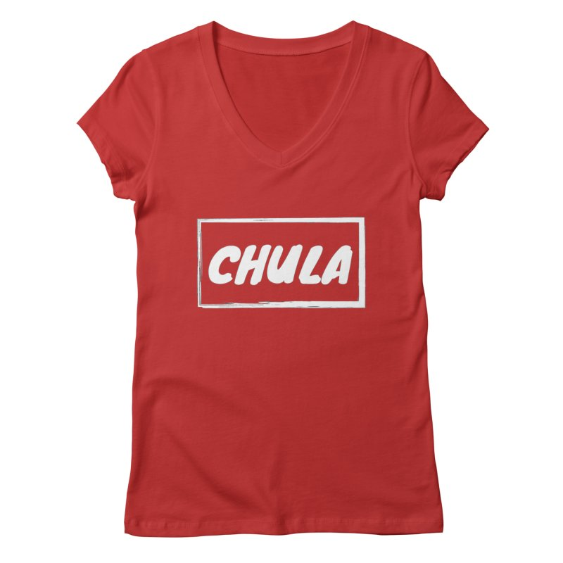 Chula Women's V-Neck by itelchan's Artist Shop