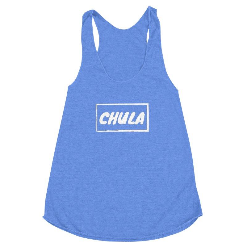 Chula Women's Racerback Triblend Tank by itelchan's Artist Shop