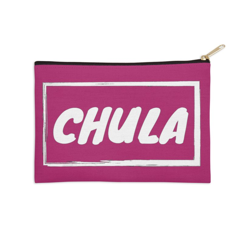 Chula Accessories Zip Pouch by itelchan's Artist Shop