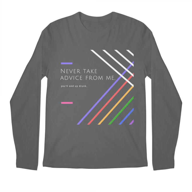 My Advice Men's Longsleeve T-Shirt by itelchan's Artist Shop