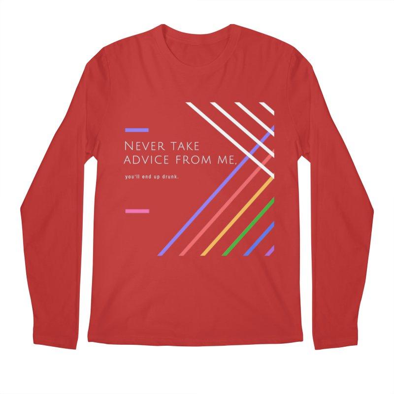 My Advice Men's Longsleeve T-Shirt by itelchan's Artist Shop