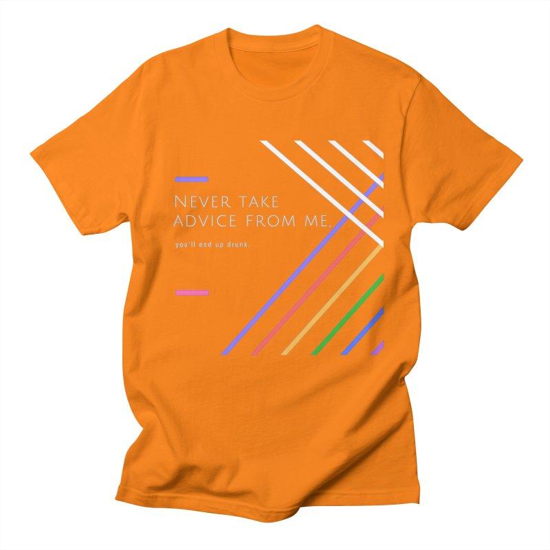 My Advice Men's T-Shirt by itelchan's Artist Shop