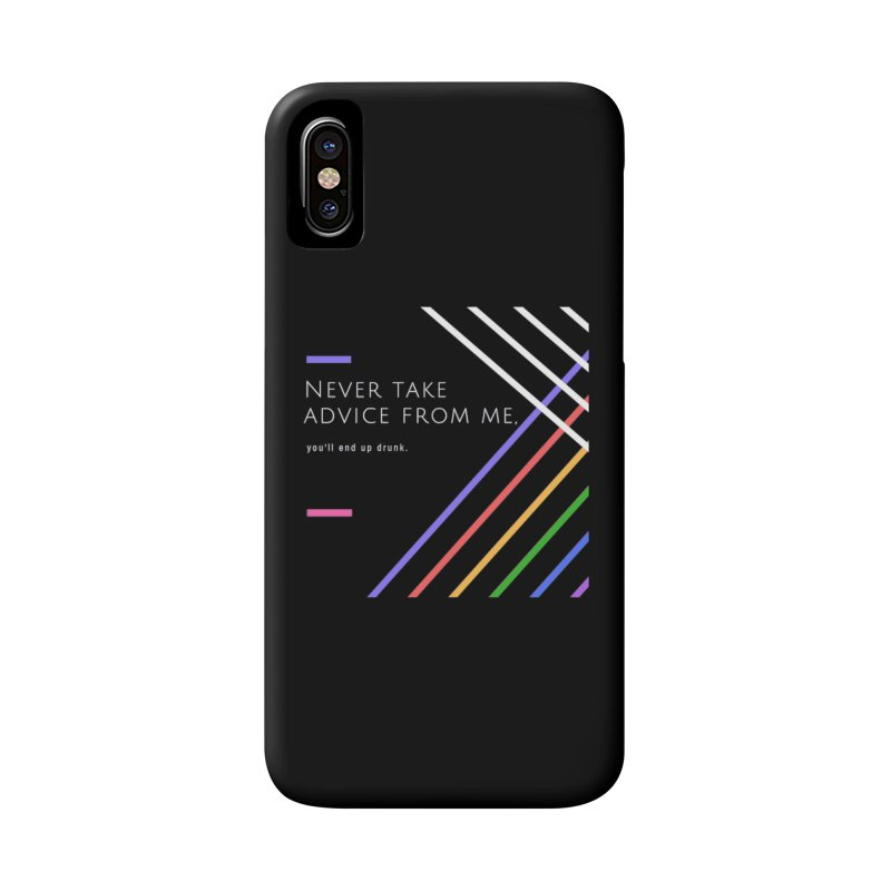 My Advice Accessories Phone Case by itelchan's Artist Shop