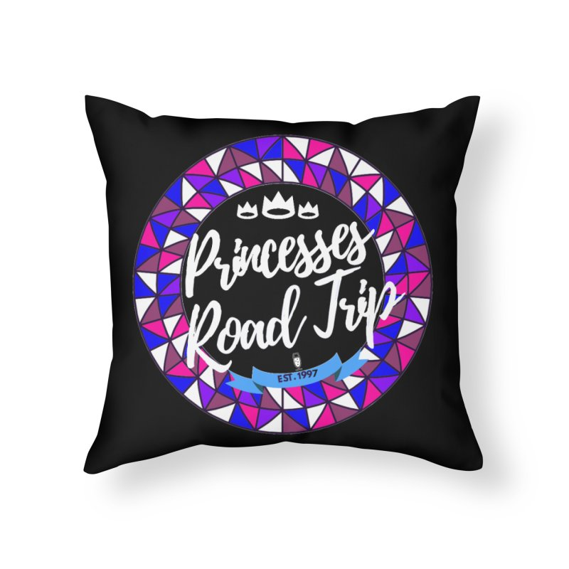 Princesses Road Trip Home Throw Pillow by itelchan's Artist Shop