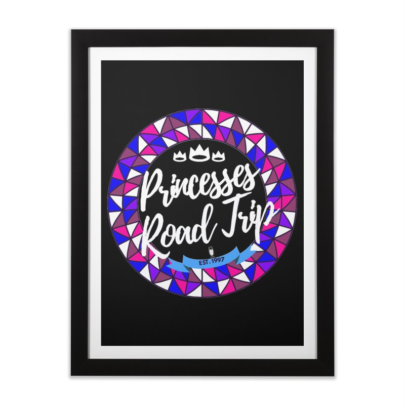 Princesses Road Trip Home Framed Fine Art Print by itelchan's Artist Shop