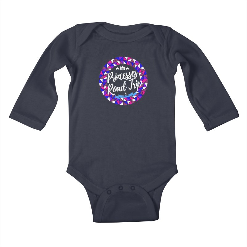Princesses Road Trip Kids Baby Longsleeve Bodysuit by itelchan's Artist Shop