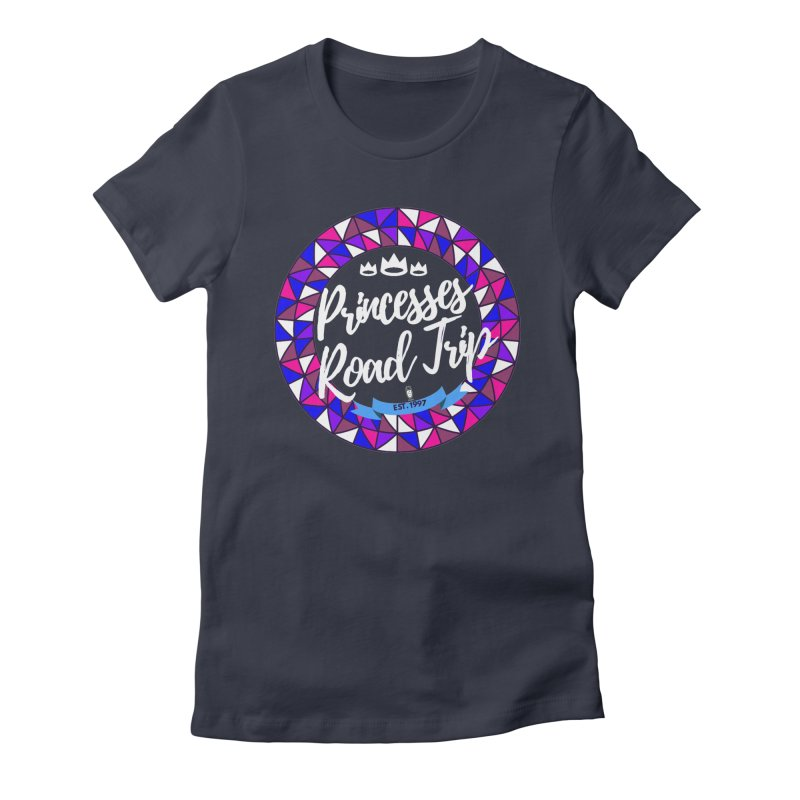 Princesses Road Trip Women's Fitted T-Shirt by itelchan's Artist Shop