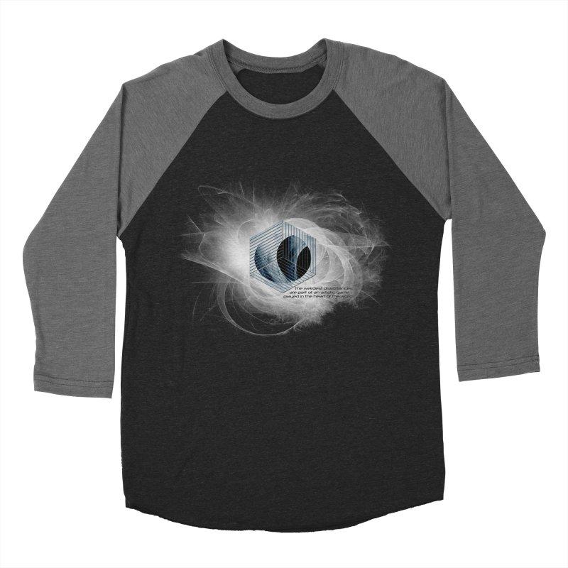 Nietzsche and Dissonance Men's Baseball Triblend T-Shirt by itelchan's Artist Shop