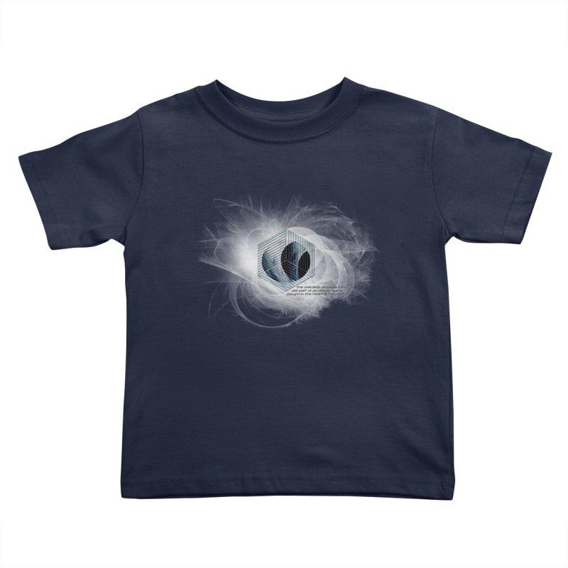 Nietzsche and Dissonance Kids Toddler T-Shirt by itelchan's Artist Shop